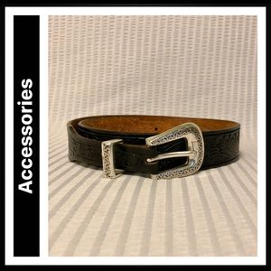 Justin Top Grain Cowhide Belt